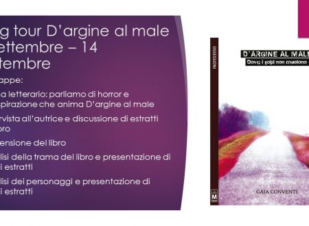 D'argine al male – Blog Tour – 5° tappa, Analisi dei personaggi