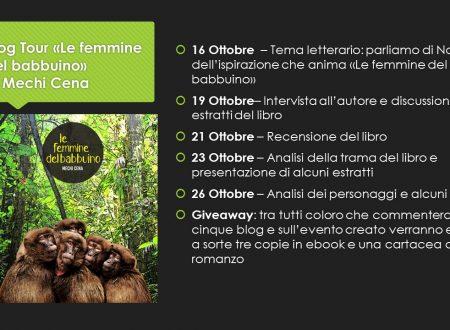 Blog tour le femmine del babbuino – intervista all'autore Mechi Cena