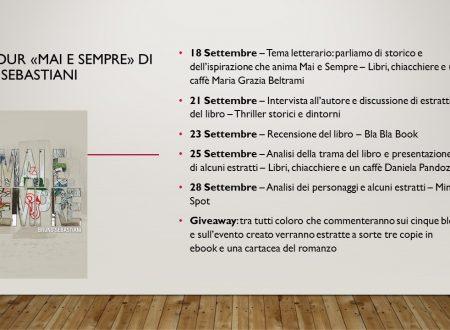 Blog Tour Mai e Sempre di Bruno Sebastiani – Analisi dei personaggi